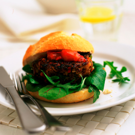 Low-fat burger-burger recipes-woman and home