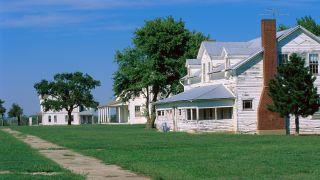 Houses in El Reno, Oklahoma