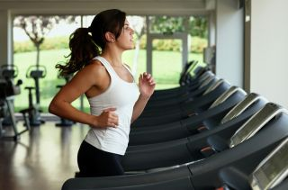 exercise treadmill perception anxiety