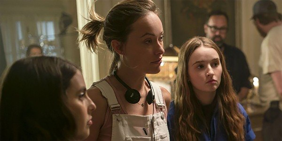 Olivia Wilde Shares First Look At Her Movie With Florence Pugh And Harry Styles