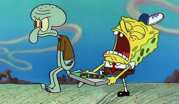 Spongebob Squarepants Nickelodeon Krusty Krab Pizza