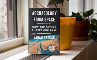 """Watch the Live Science Facebook Live interview at 11:30 a.m. EDT today (July 12) and enter to win one of three free copies of """"Archaeology From Space: How the Future Shapes Our Past."""""""