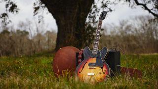Gibson's new Slim Harpo Lovell ES-330 guitar