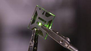 Nanotech OLED electrode