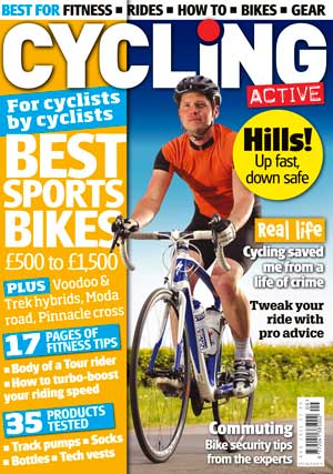 Cycling Active August 2011