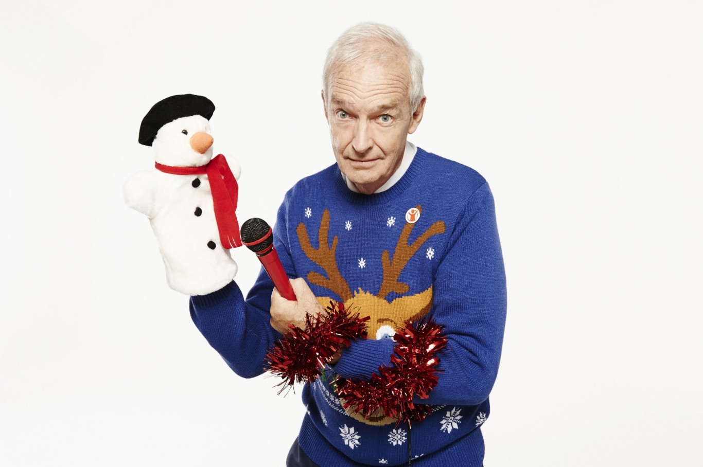 Jumpers to promote Save the Children's Christmas Jumper Day campaign which takes place on December 12