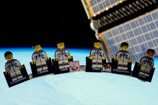 Expedition 46 LEGO Minifigures