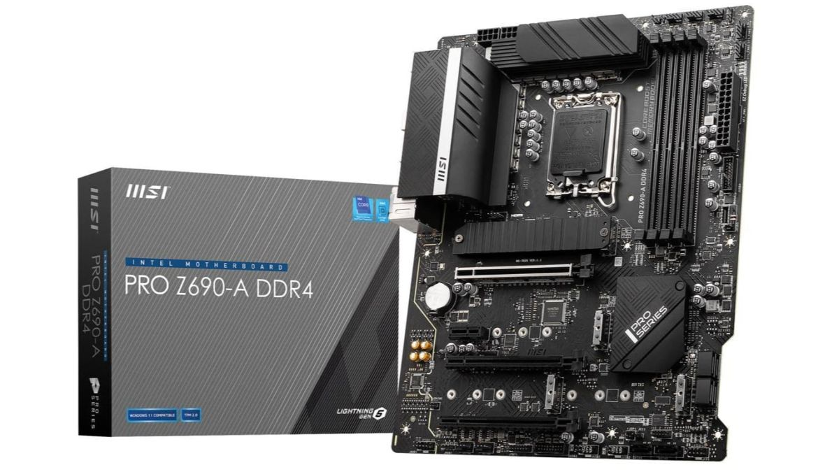 Photo of MSI Z690-A Pro DDR4 Alder Lake Motherboard Already On Sale At Newegg