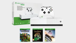 This multi-game Xbox One S All-Digital bundle at Currys is absurdly good value