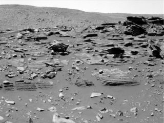 Spirit Mars Rover Reaches 'Home Plate': Formation Has Researchers Puzzled