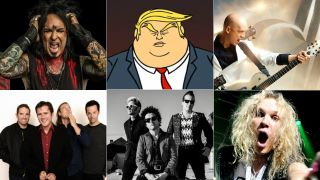 Green Day, Puscifer, Steel Panther, Devin Townsend Project, Jimmy Eat World and Sixx AM