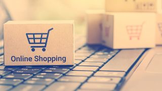 Amazon e-commerce logo
