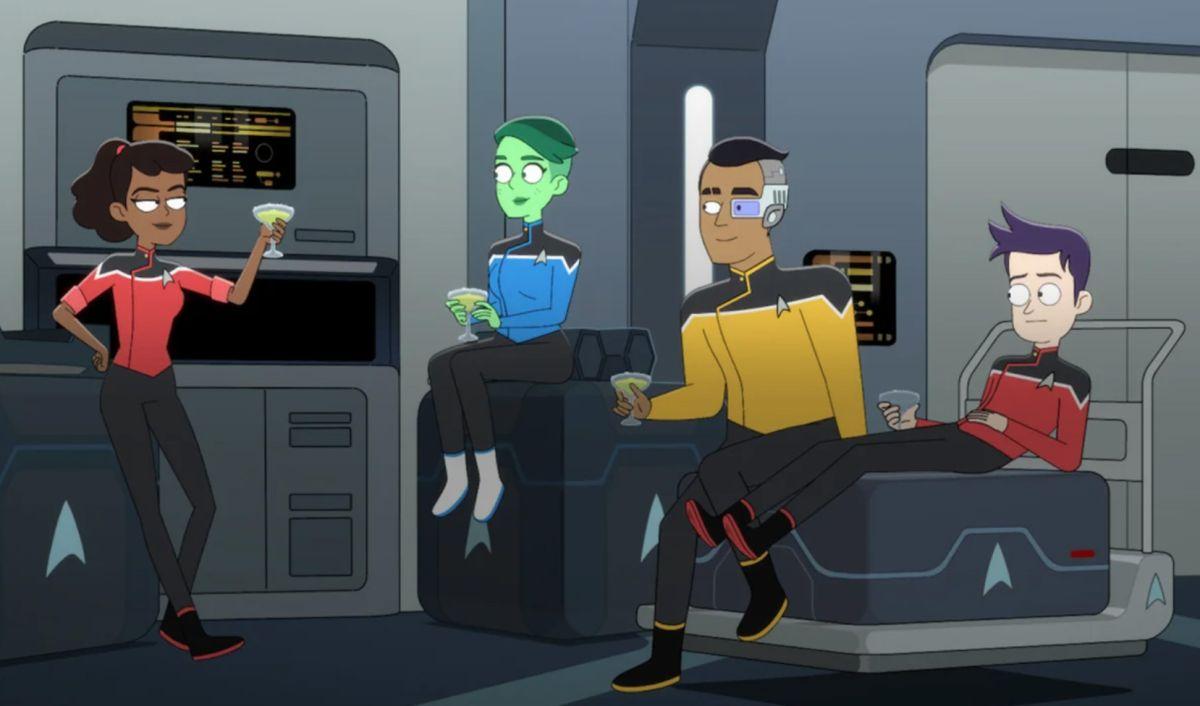 Star Trek: Lower Decks' season 1 warps onto Blu-ray May 18