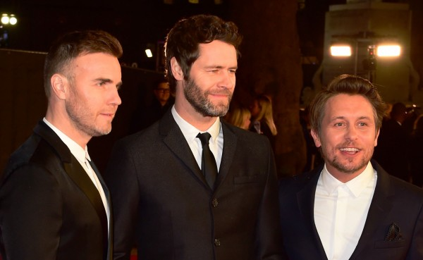 Gary Barlow Howard Donald Mark Owen