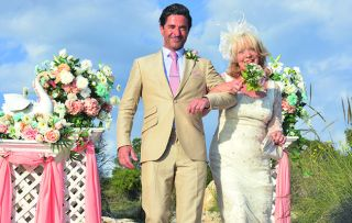 Wedding bells at the Solana as the sunny comedy returns