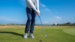Golf chipping drill