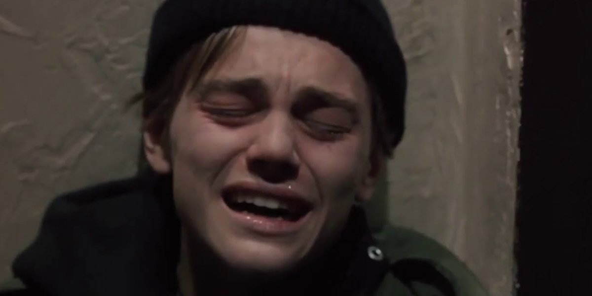 Leo Crying in The Basketball Diaries