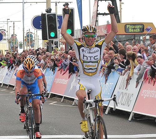 Edvald Boasson Hagen, Tour of Britain 2009, stage 4
