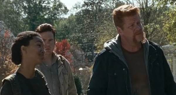 Walking dead abraham and sasha
