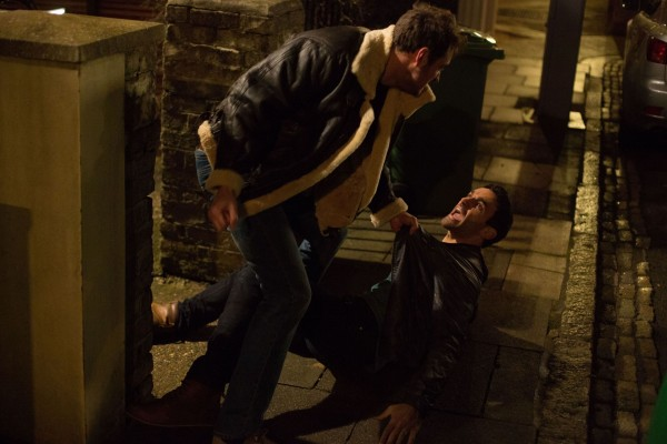 Martin and Kush come to blows in EastEnders
