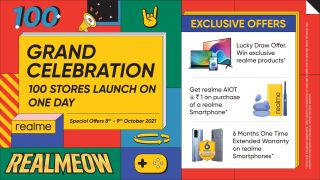 Realme on a roll – Opens 100 exclusive retail stores in India