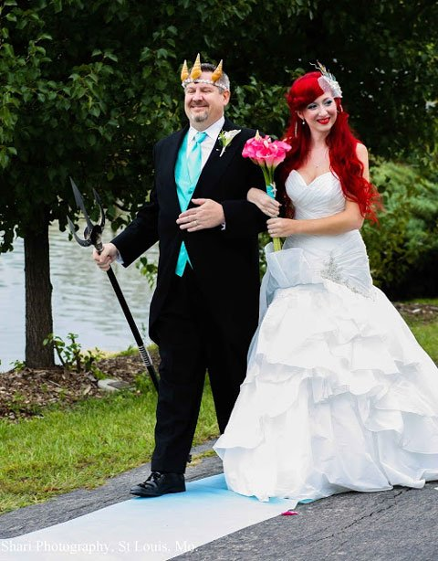 See The Greatest Disney Cosplay Wedding Ever Cinemablend