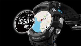 Casio G-Squad Pro G-Shock GSW-H1000 Wear OS smartwatch