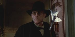 Why Christopher Lloyd Never Blinked While Playing His Who Framed Roger Rabbit Character