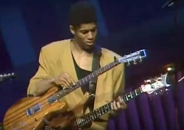 Watch Stanley Jordan Play Stairway To Heaven On Two Guitars At Once Guitar World