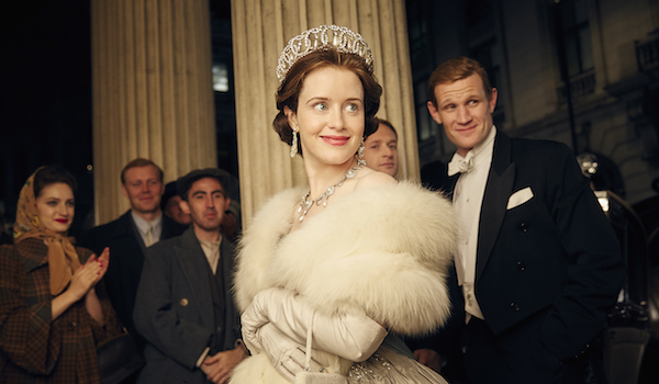 The crown netflix claire foy and matt smith