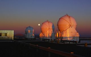 Belt of Venus Over Cerro Paranal space wallpaper