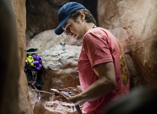 James Franco Is Between A Rock And A Hard