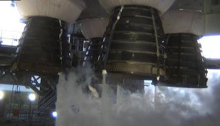 NASA will conduct a second hot fire test with the engines of its SLS megarocket at the Stennis Space Center as early as the fourth week of February, 2021.