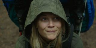 Reese Witherspoon freaking out during Wild