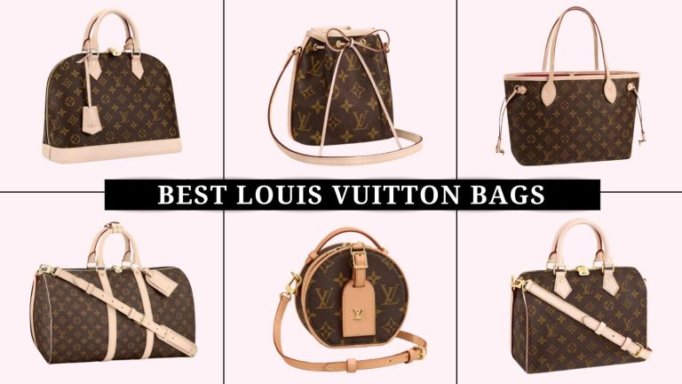 collage of the best Louis Vuitton bags
