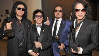 Ace Frehley with Kiss