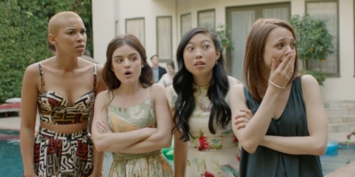 Awkwafina and the Dude cast