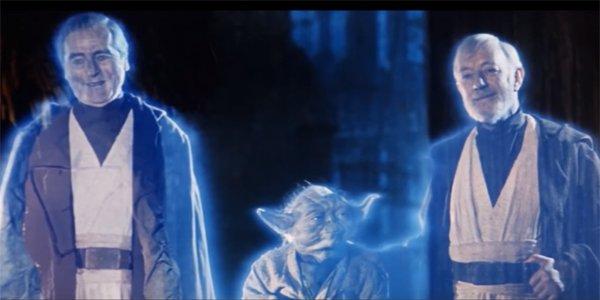 Star Wars Return of the Jedi original Force Ghosts Anakin Yoda Obi-Wan