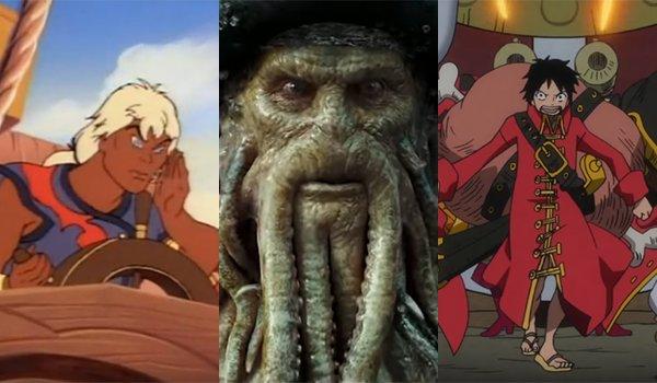 Pirates of Dark Water, Davy Jones and One Piece