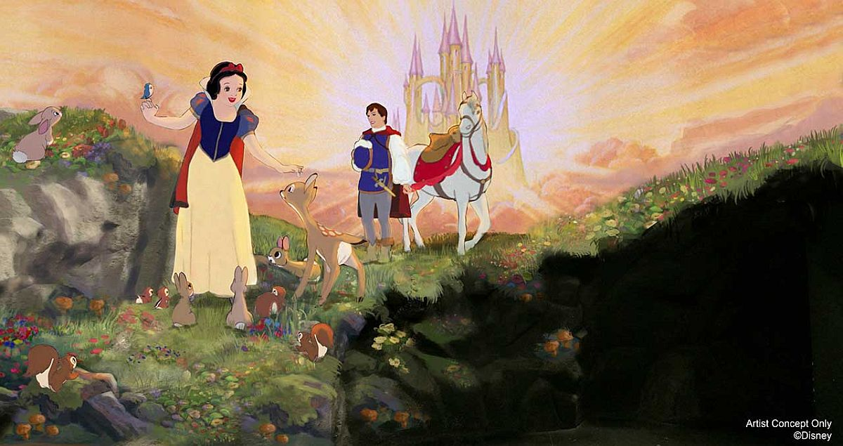 Snow White's Scary Adventure concept art