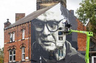 Leeds United mural