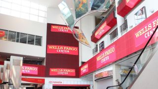 ANC Installs LED Display Enhancements at Wells Fargo Center