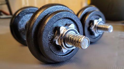 AmazonBasics Adjustable Weight Set review