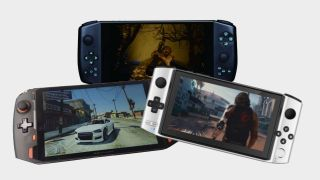 The Aya Neo, GPD Win 3 and One-Netbook OnexPlayer handheld gaming devices