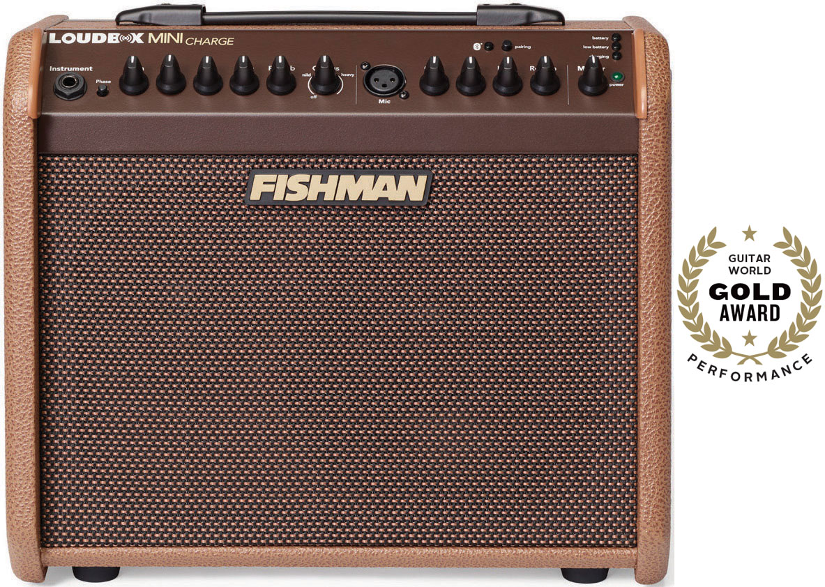 Review: Fishman Loudbox Mini Charge Guitar Amp | Guitarworld