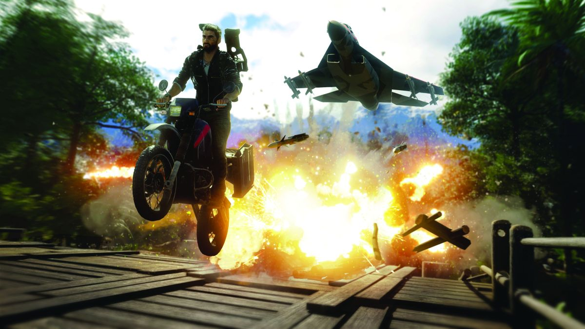 John Wick's creator is writing a Just Cause movie