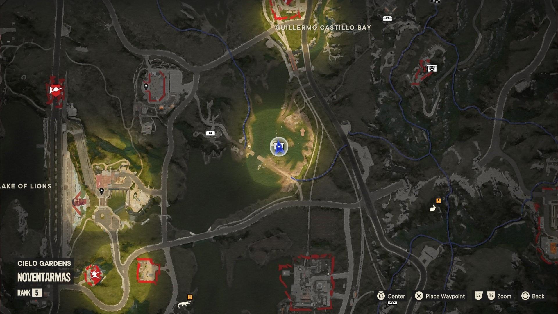 A Far Cry 6 Criptograma chests location near the dam in Valle De Oro