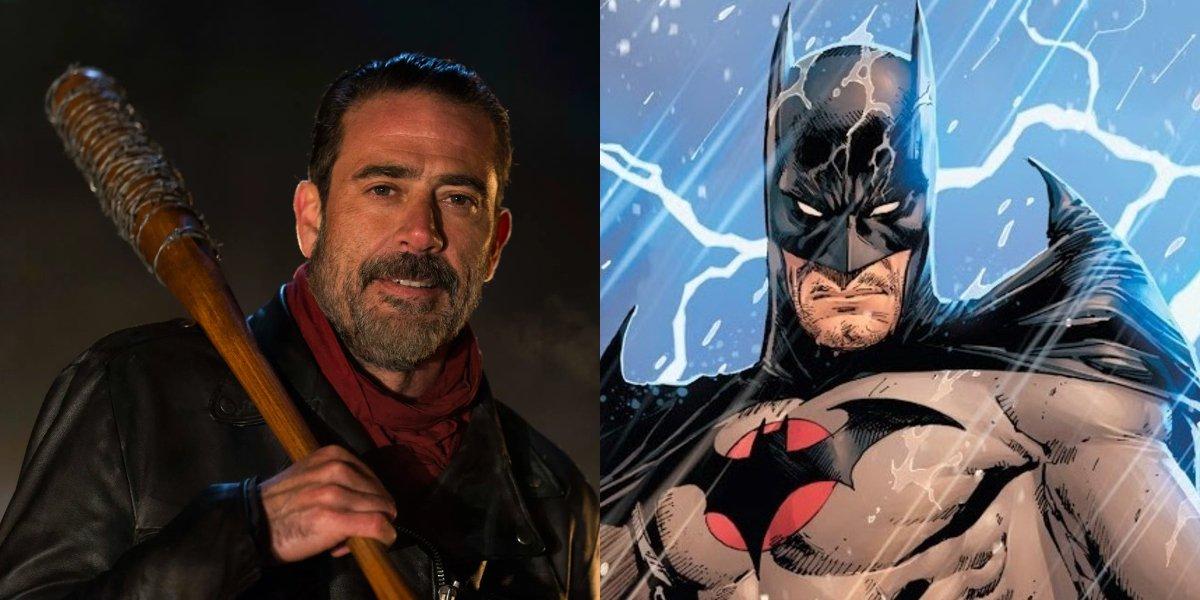 Jeffrey Dean Morgan and Batman (Thomas Wayne)