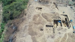 Archaeologists uncovered a 3000-year-old megalithic temple in Peru.