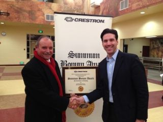 Crestron Recognizes Principal with Summum Bonum Award